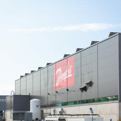 Vacon/Danfossin Producta 1 kiinteistö Vaasa Airport Parkissa