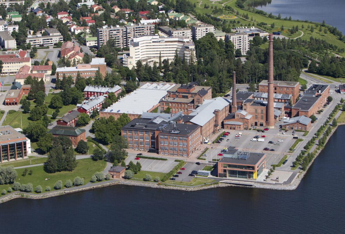 Vaasa Science Park yritysalue Vaasan Palosaarella
