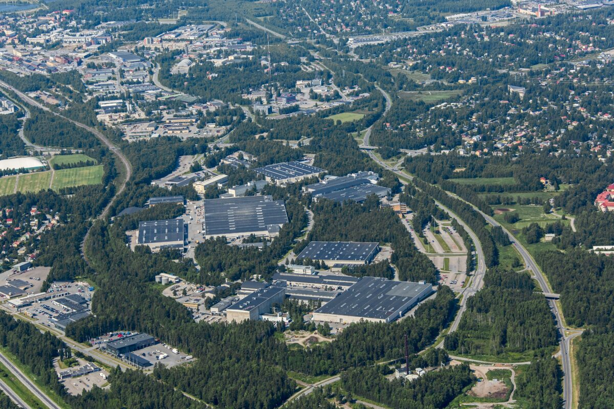 Vaasan Strömberg Park-alue