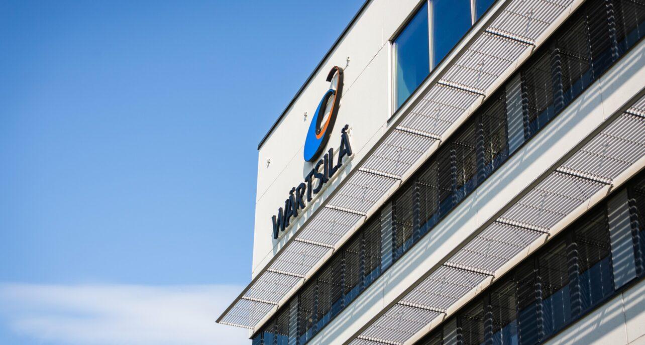 Wärtsilän käyttöön rakennettava Powergate II-talo kasvaa täyteen mittaansa