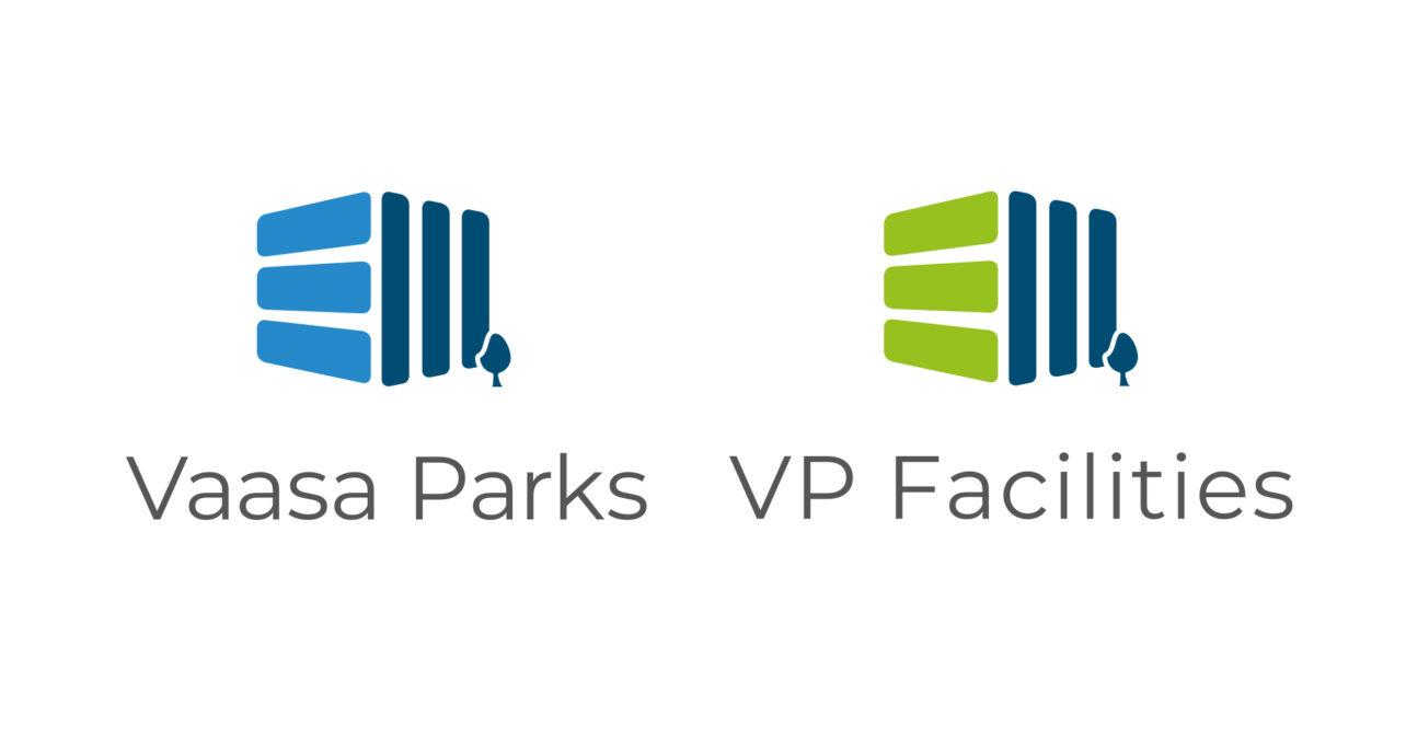 Vaasa Parks- ja VP Facilities-yhtiöt saivat uuden ilmeen ja kotisivut