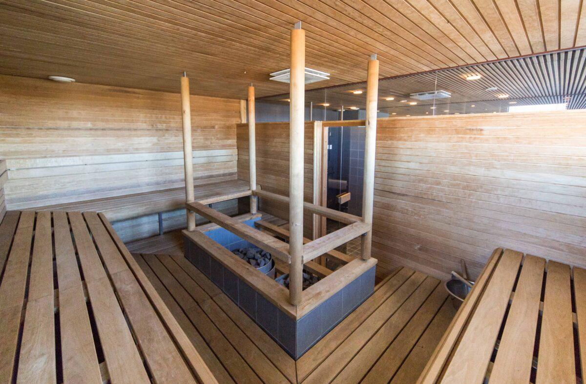 Sauna Futura I:n kokoustila Quintassa Vaasa Airport Parkissa