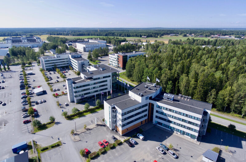 Futura I-IV talot Vaasa Airport Parkissa
